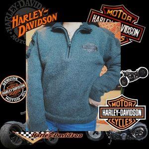 Harley Davidson Wool Sweater 🖤🔥